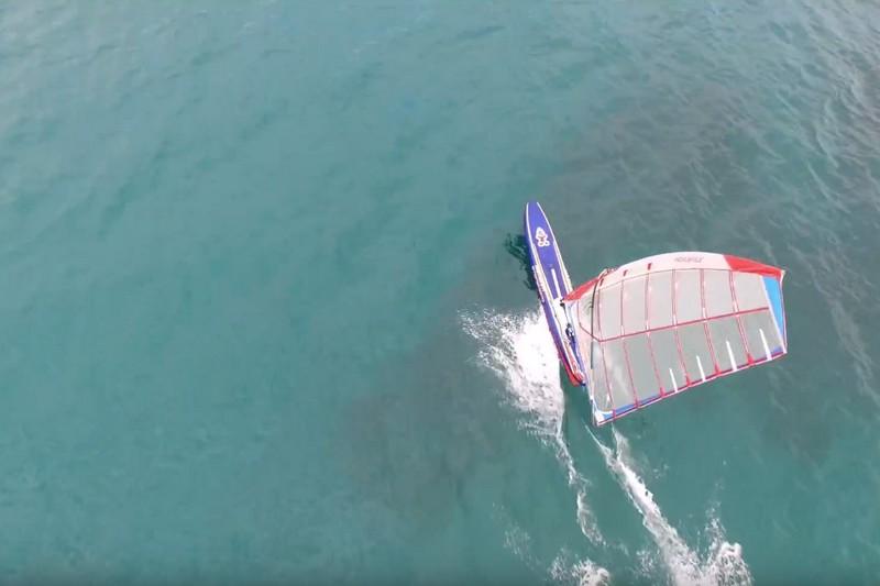 Vidéo : Un drone, une Raceboard et Nicolas Huguet