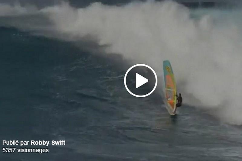 Vidéo : Robby Swift à Jaws