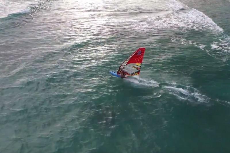 Vidéo : Tristan Algret vu du ciel