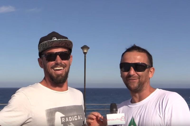 Vidéo : Julien Taboulet au micro de Ben Proffitt