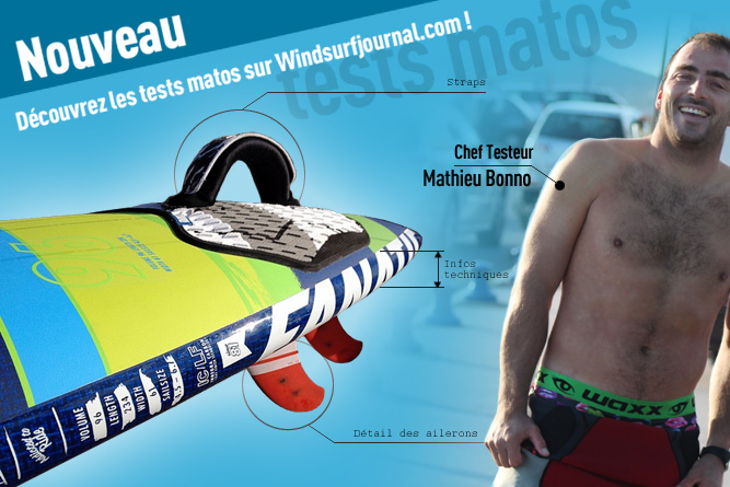 Les tests Windsurfjournal.com