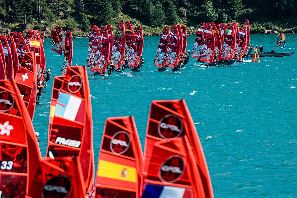 Live streaming iQFoil World Championships - Jour 6
