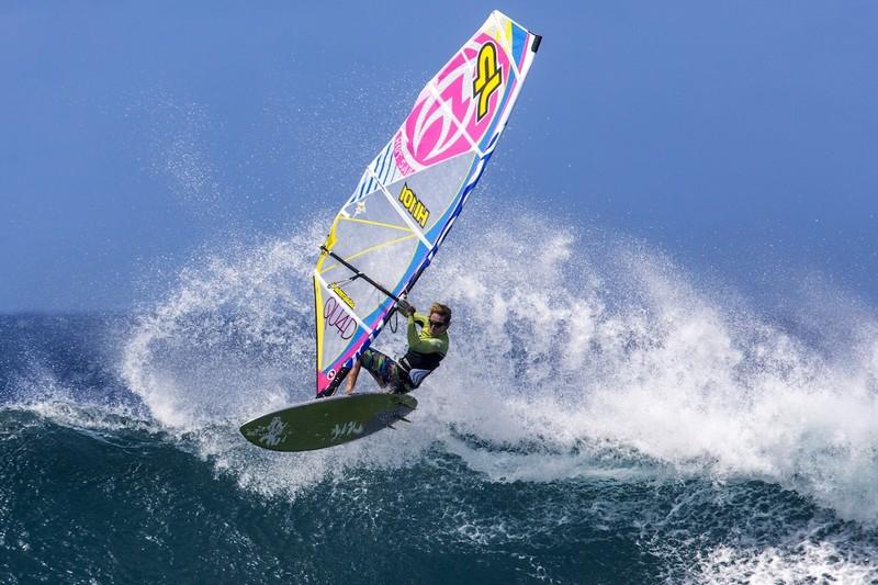 Morgan Noireaux chez Hot Sails Maui