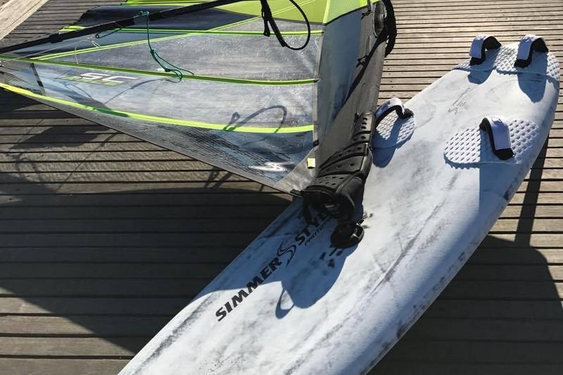Des planches de slalom chez Simmer Style