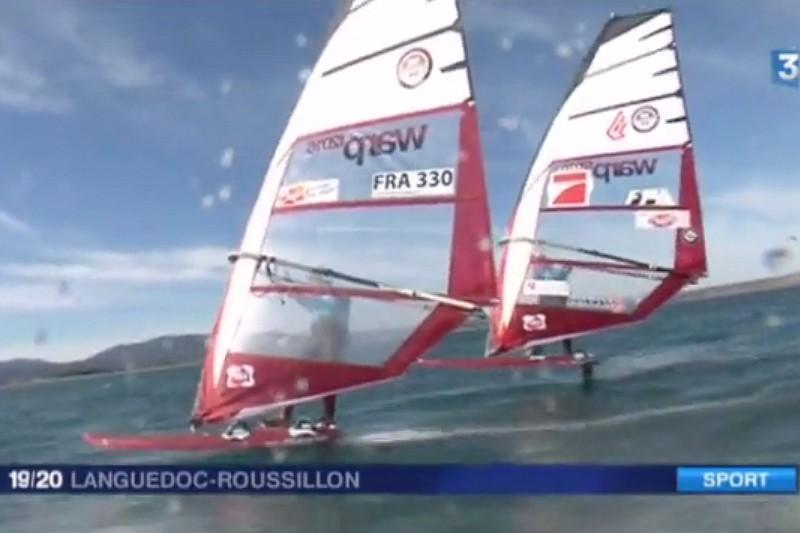 Du windfoil sur France 3