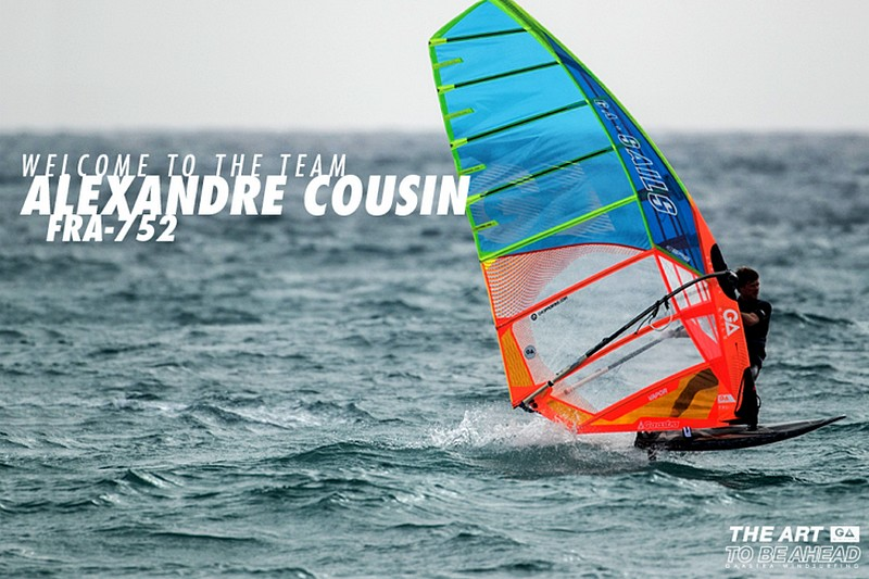 Alexandre Cousin chez GA Sails