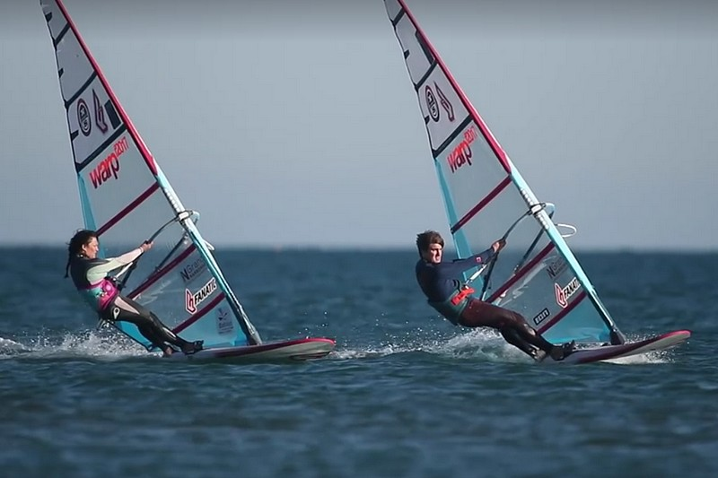 Marion Mortefon chez Fanatic et North Sails