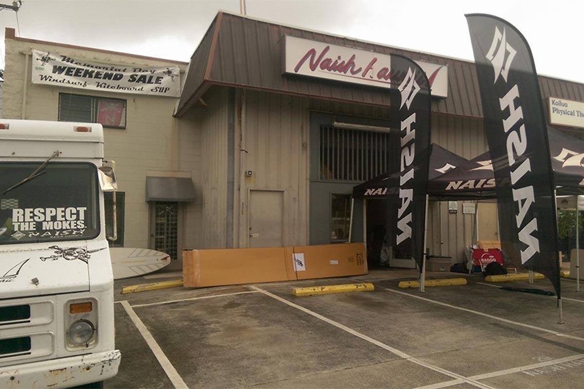 Naish Hawaii ferme ses portes à Kailua