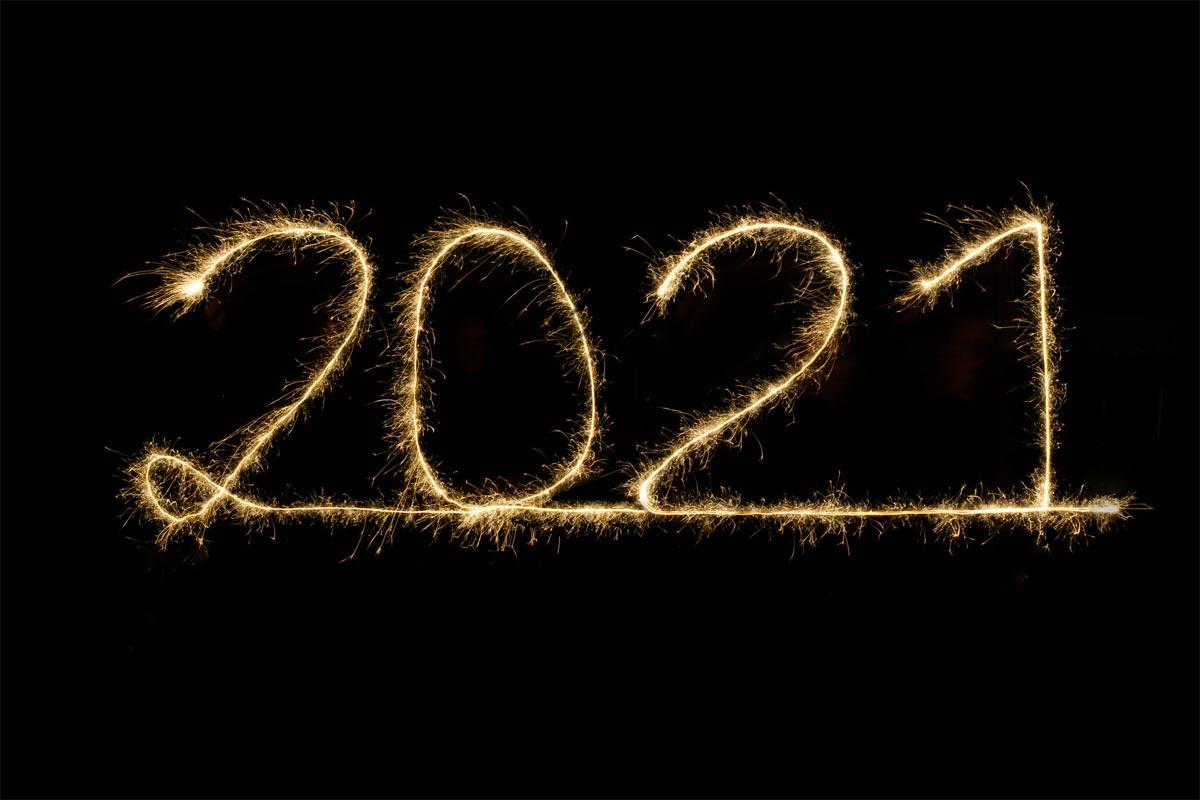 Une belle année 2021