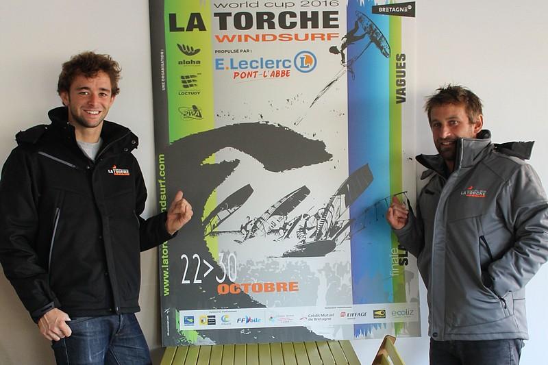 Pierre Le Coq parrain du La Torche Windsurf