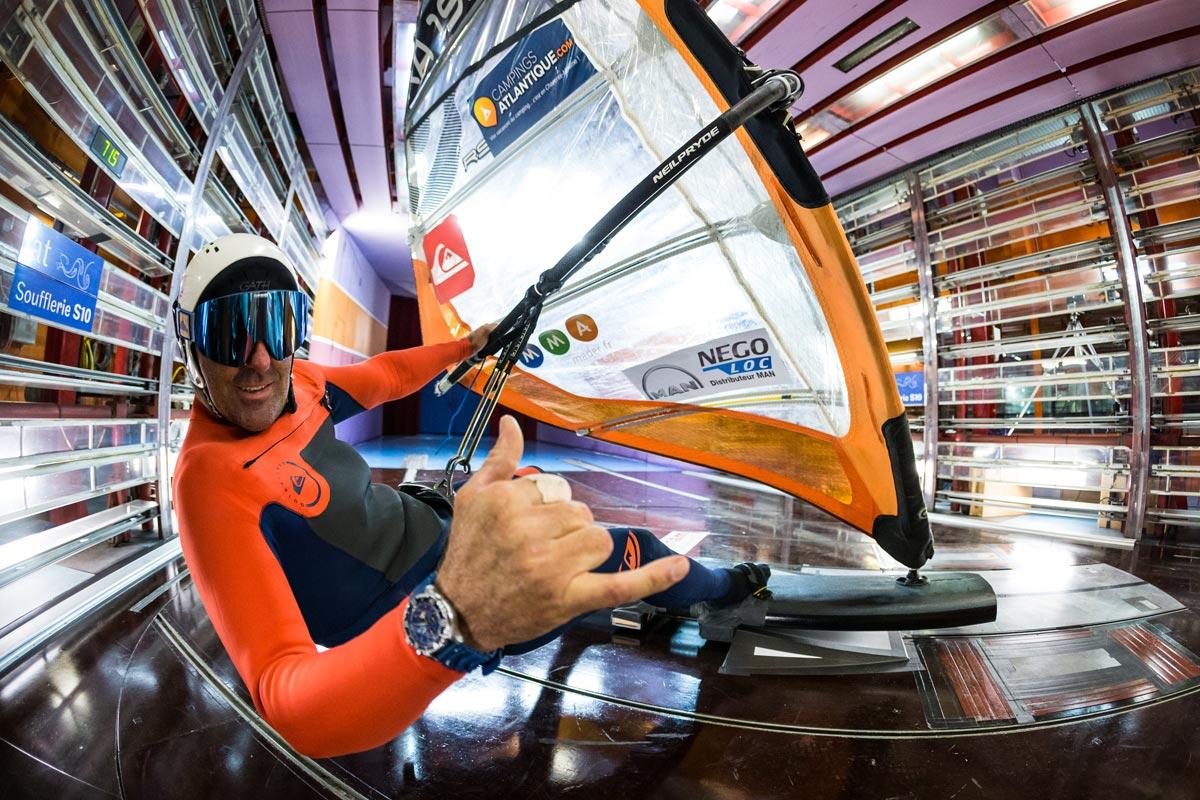 Antoine Albeau et la quête d'un nouveau record