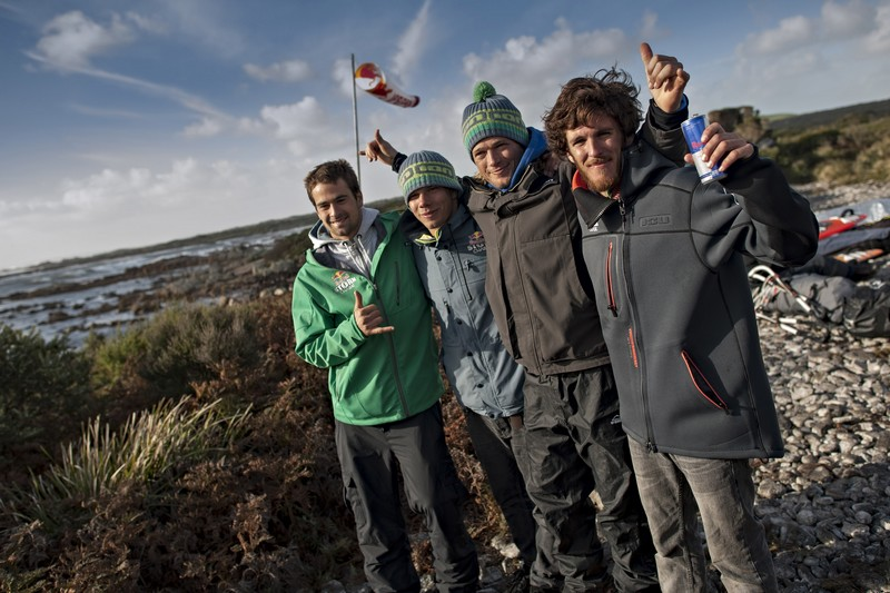 4 garçons dans le vent !