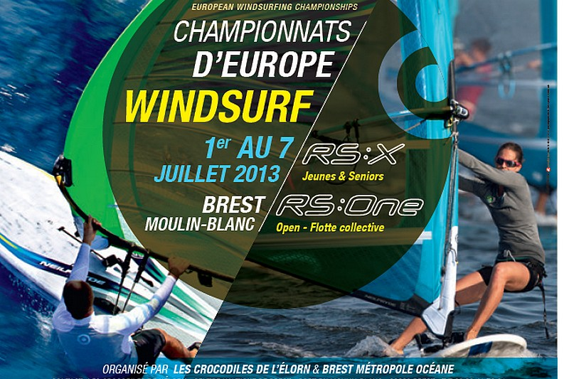 RS:X et RS:One Europeans 2013