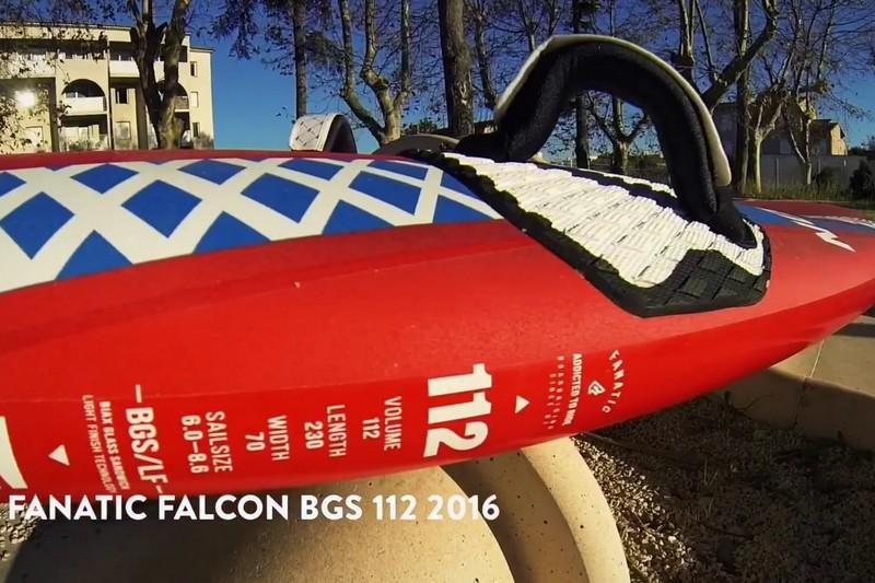 Revue de détails - Fanatic Falcon BGS 112 2016