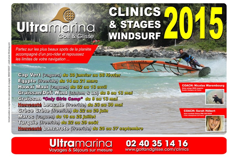 Clinics et stages Ultramarina 2015