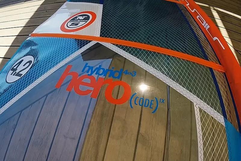 Revue de détails - North Sails Hero Hybrid 4.2 2016
