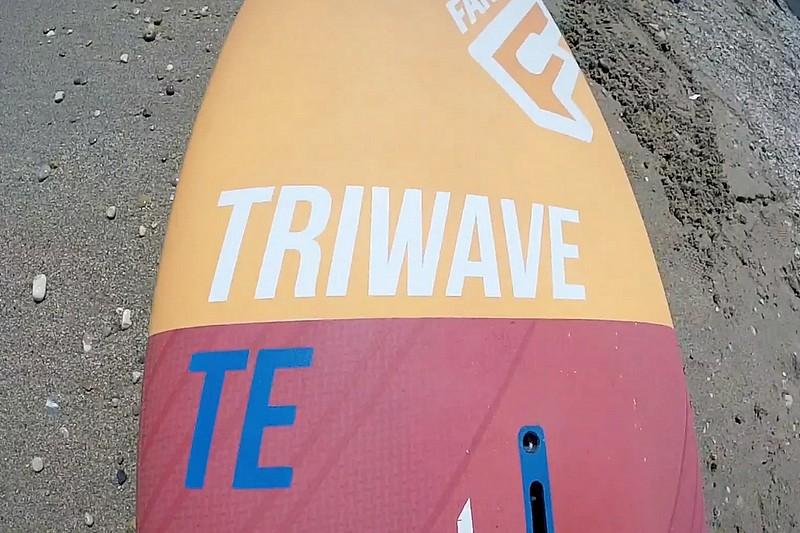 Revue de détails - Fanatic TriWave TE 82 2016