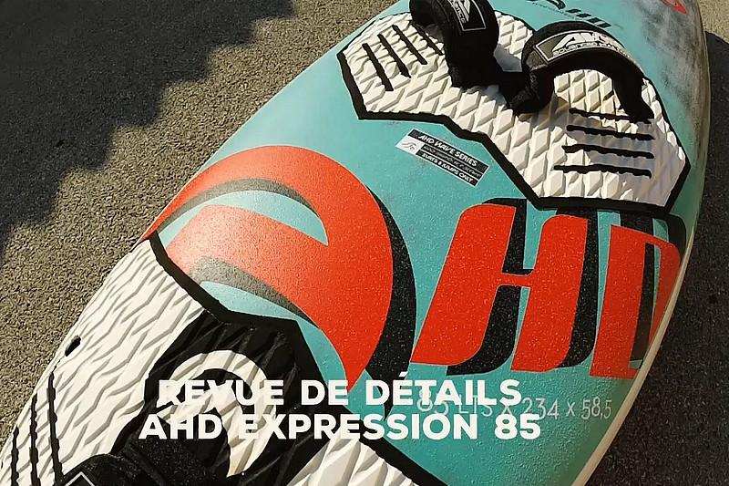 Revue de détails - AHD Expression 85