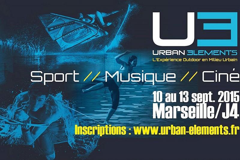 Du windsurf sur l'Urban Elements !