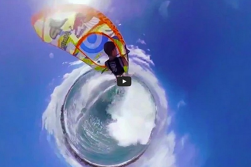 360° Panoramic Windsurfing
