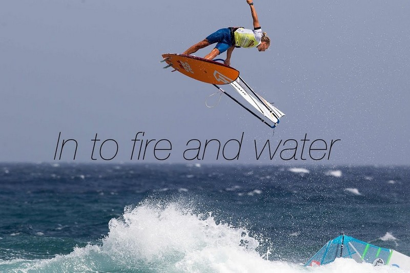 In to fire and water