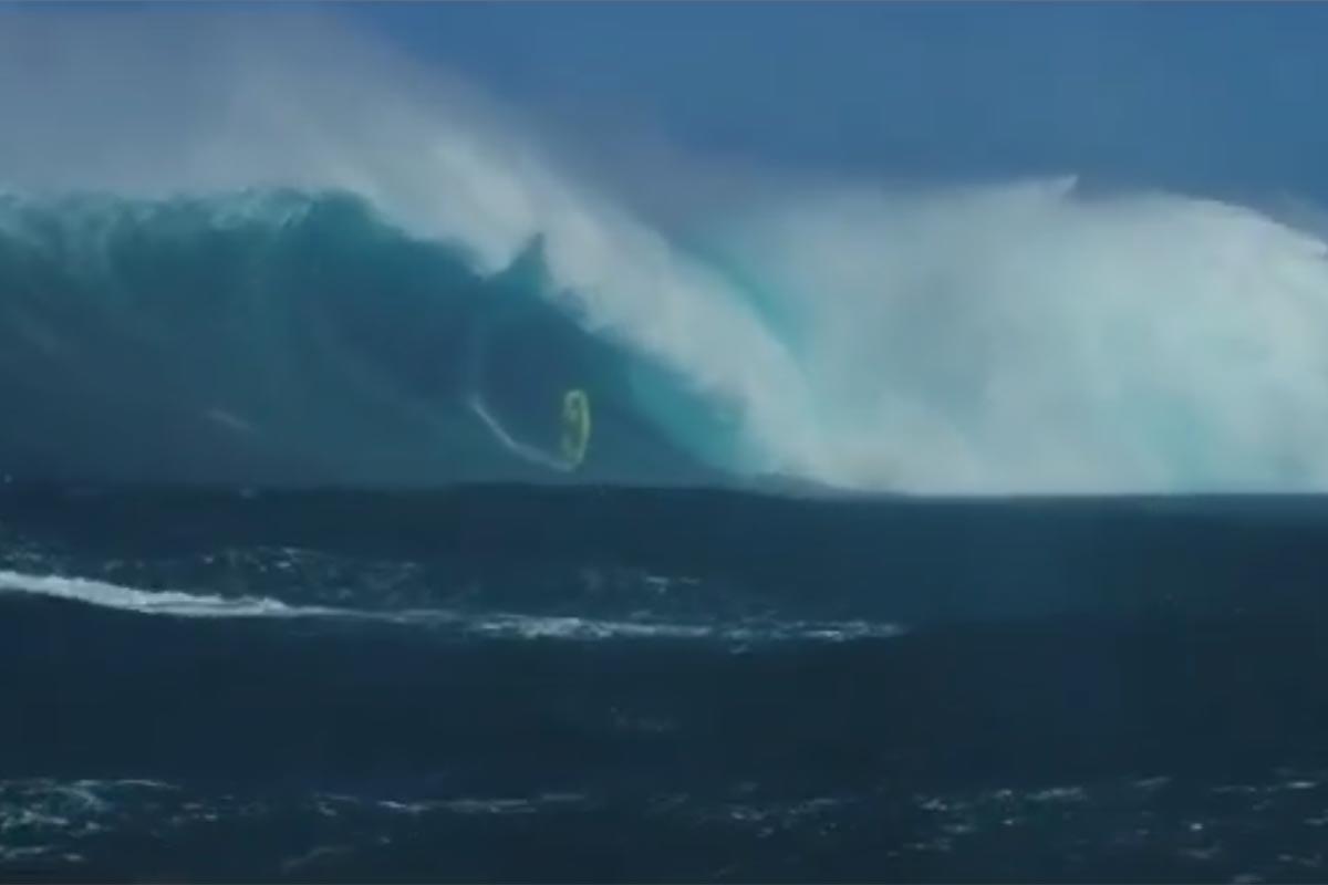 Adam Warchol, la chute à Jaws qui fera date !