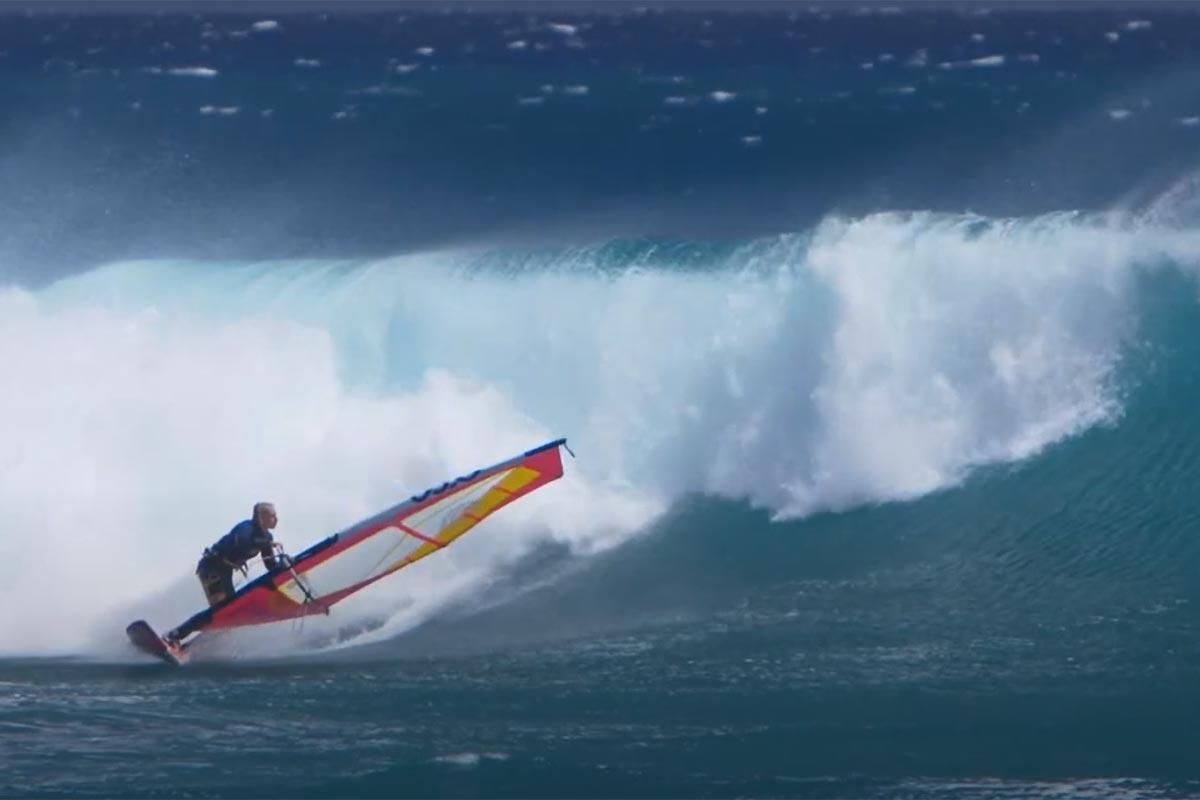 Adam Warchol en action au Sud de Maui
