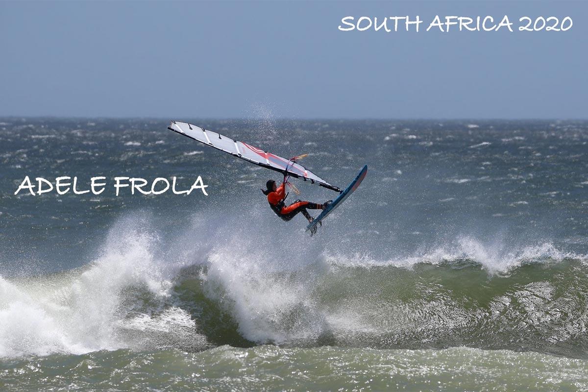 Adele Frola en Afrique du Sud