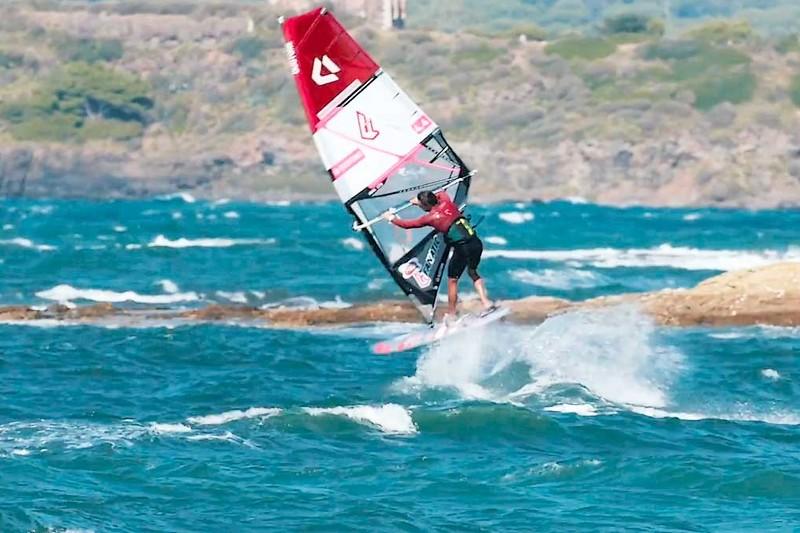 Adrien Bosson dans sa baie