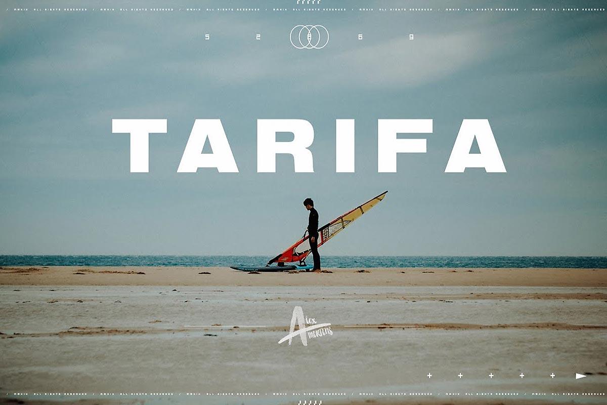 Le drôle de trip d'Alex Mertens à Tarifa