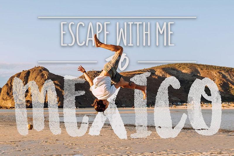 Une escapade au Mexique avec Alex Mertens