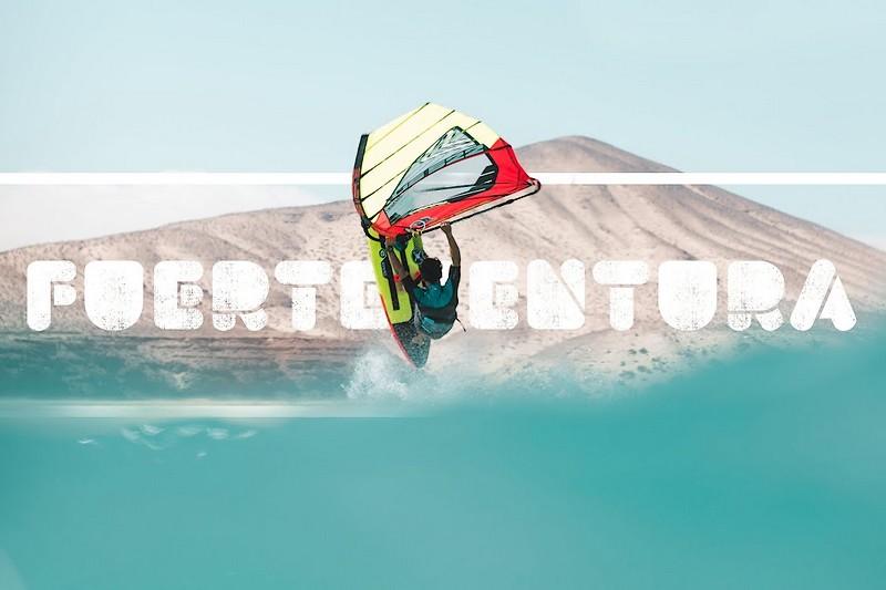 Alex Mertens et Alexa Escherich à Fuerteventura