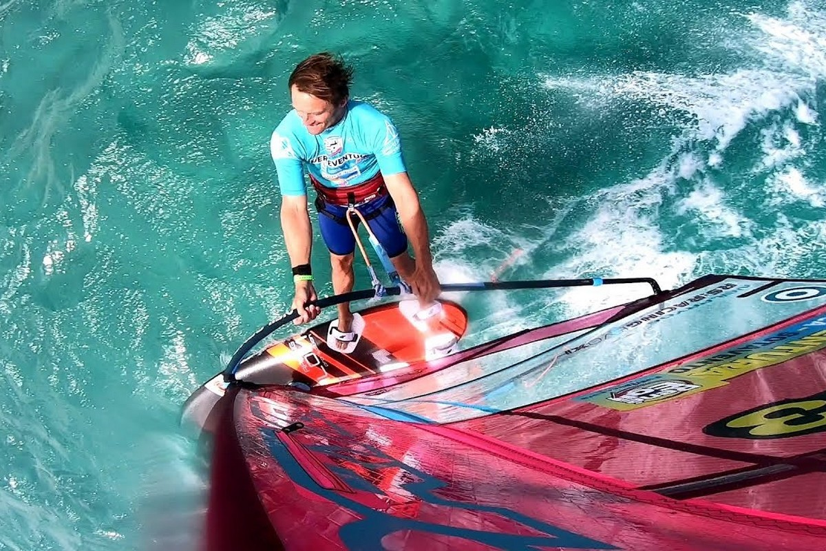La Fuerteventura PWA World Cup avec Andy Laufer