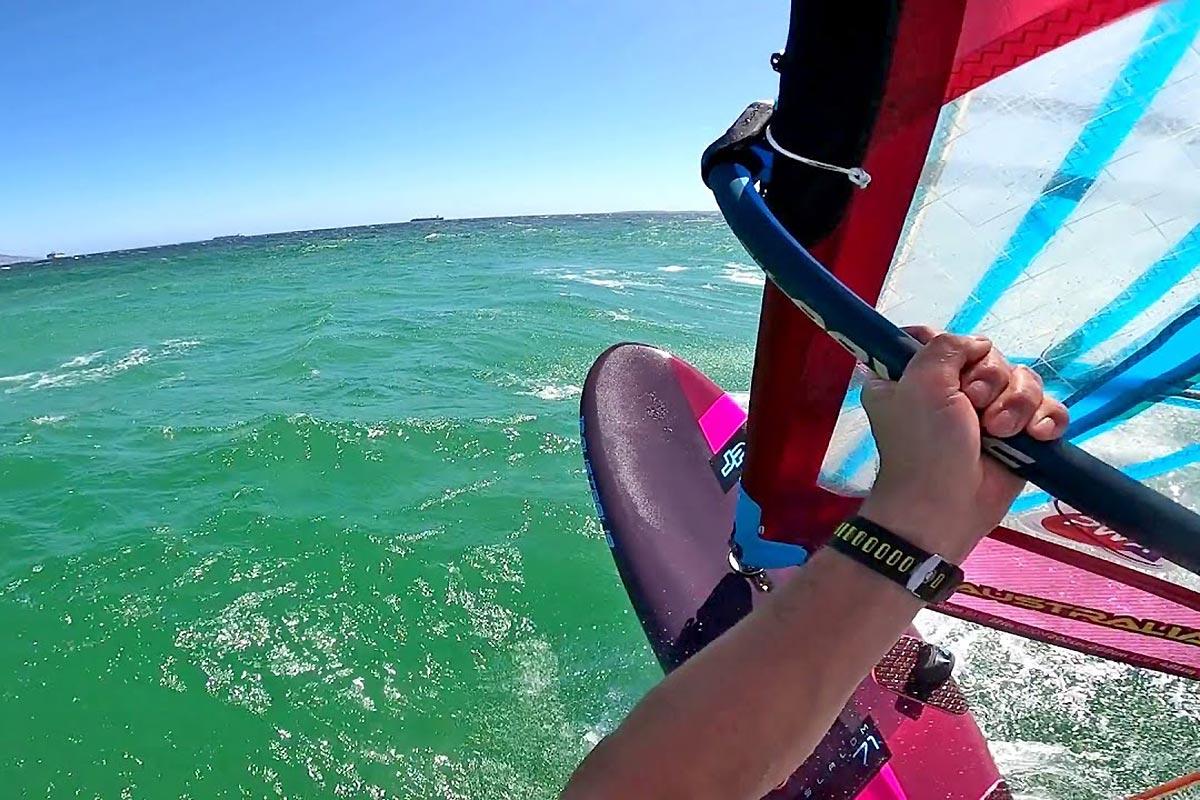 Du slalom en Afrique du Sud avec Andy Laufer