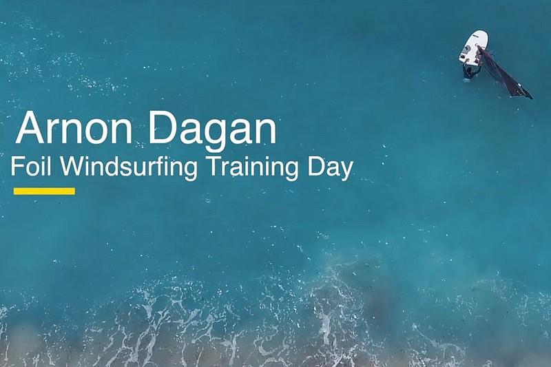 Arnon Dagan en foil à Haifa