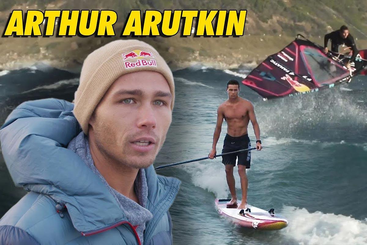 Arthur Arutkin à l'honneur dans Riding Zone