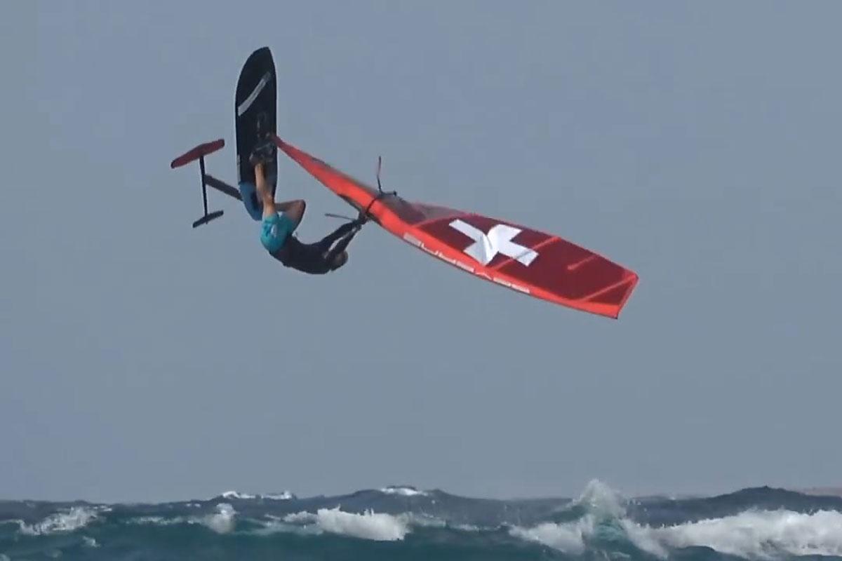 Balz Müller en action à Bonaire