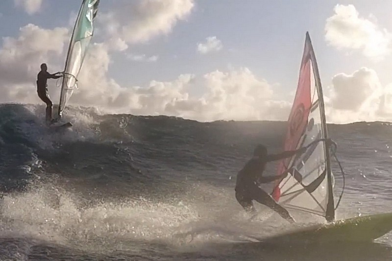 Old School Mauritius Windsurf