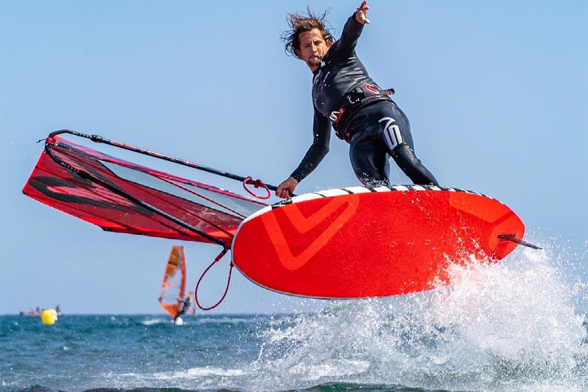 Dieter Van der Eyken en freestyle à Tenerife