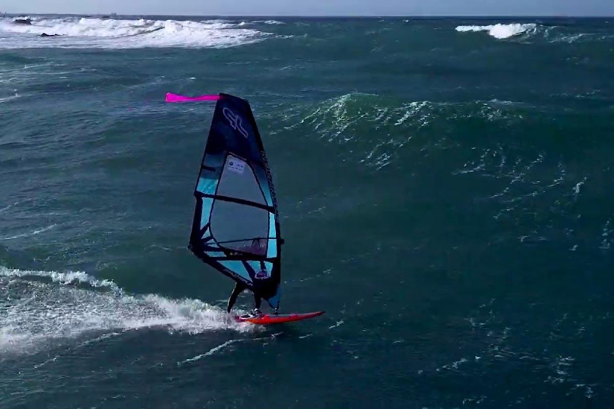 Le French Windsurfing Tour vu du ciel