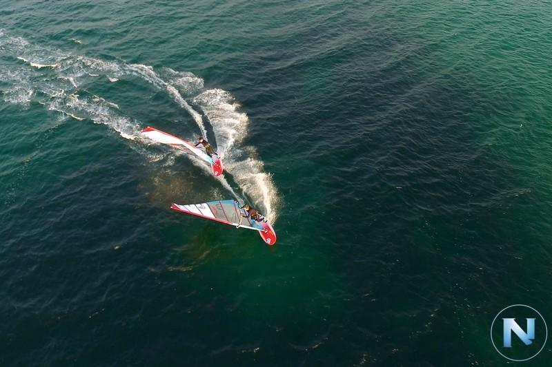 Du windsurf dans l'air