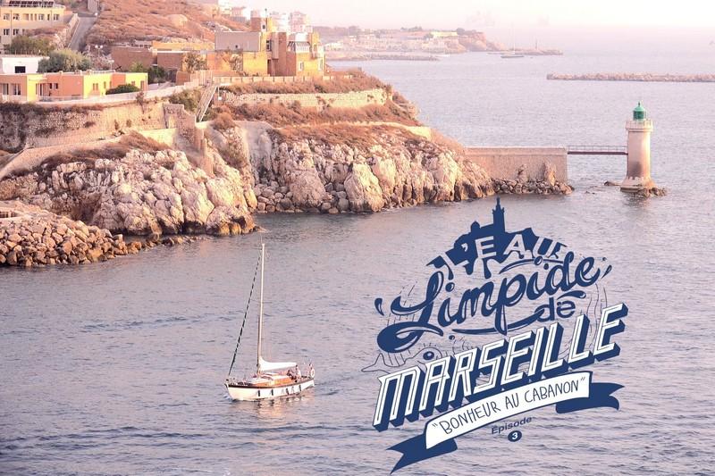 L'Eau Limpide de Marseille - Bonheur au Cabanon