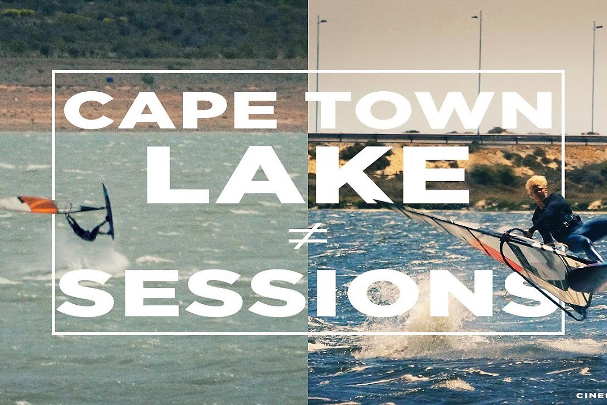 Cape Town Lake Sessions | Windsurfing Freestyle