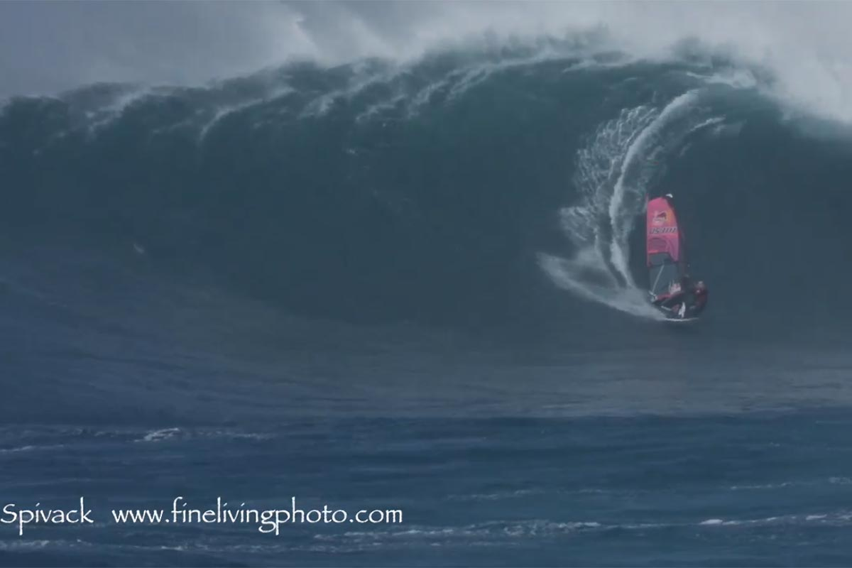 Le Super Swell Saturday à Jaws