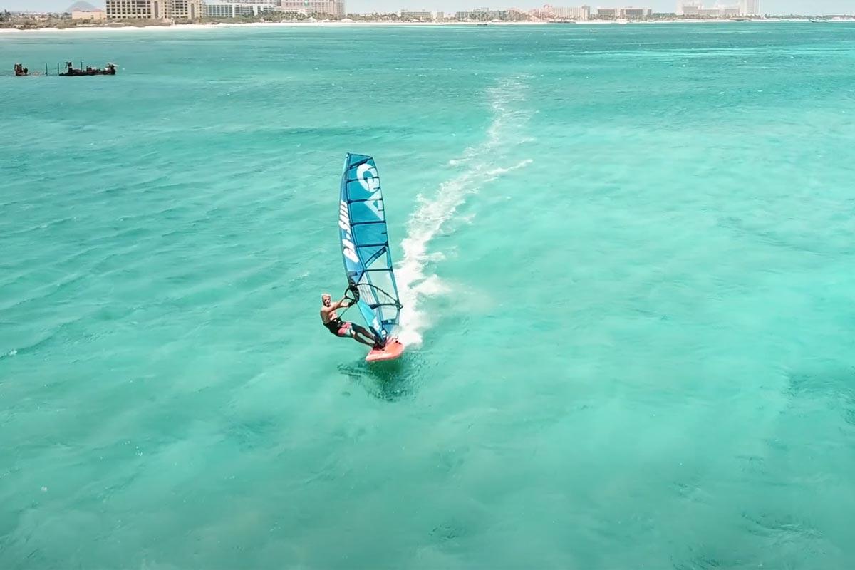 Ethan Westera à Aruba