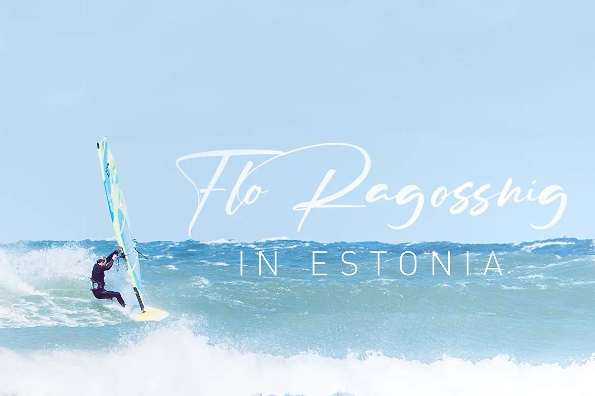 Windsurfing in Estonia - Flo Ragossnig