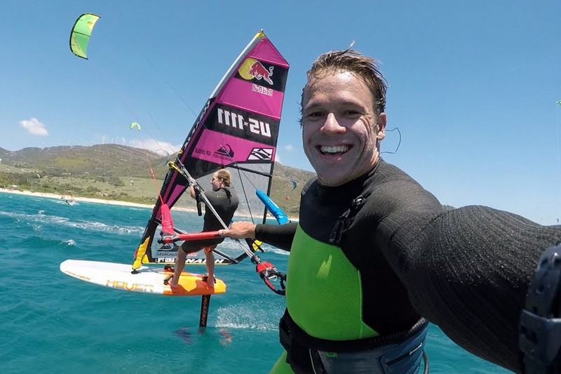 Foiling with Robby Naish