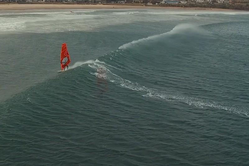 Gerroa, des vagues et un drone