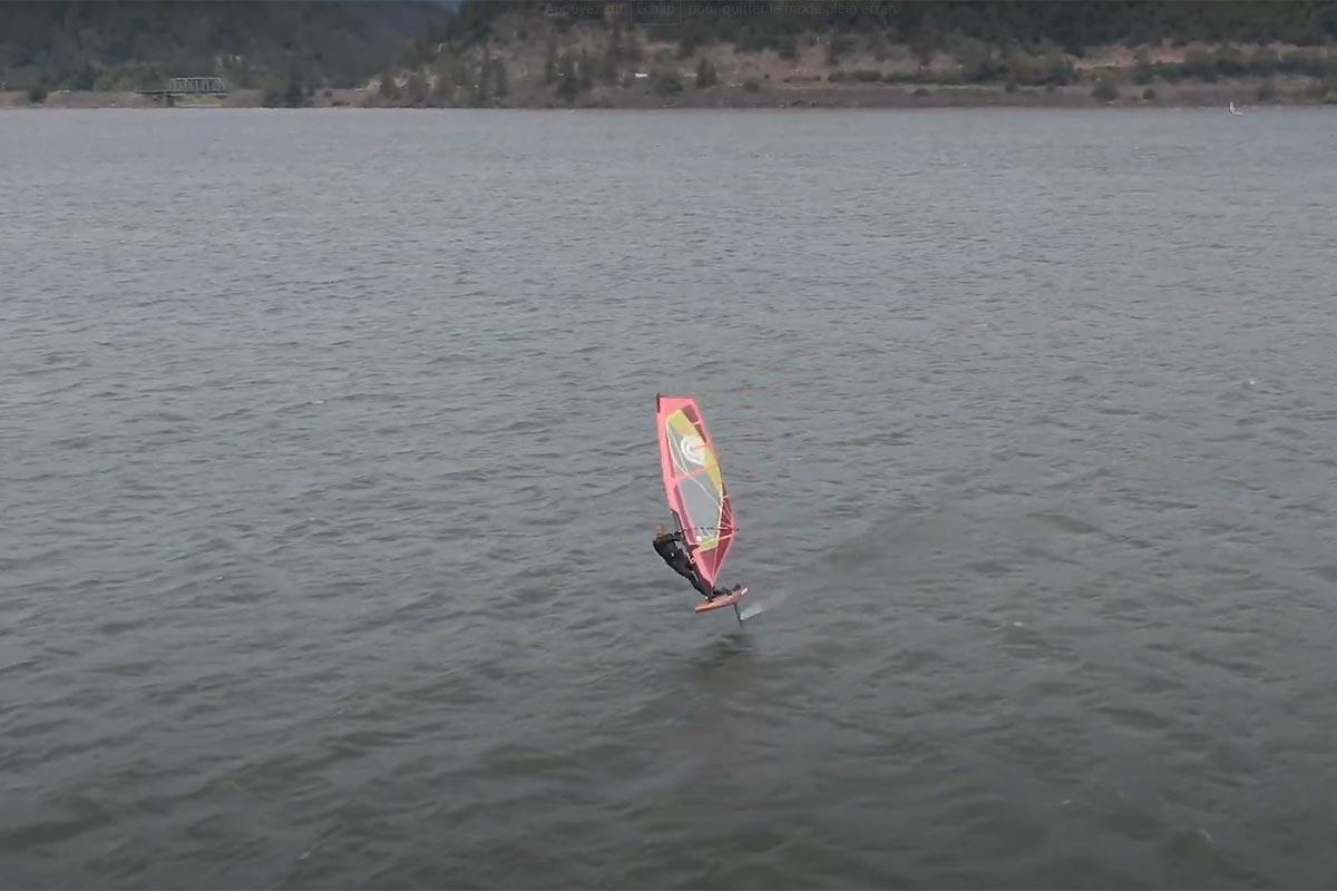 Du windfoil à la cool en Oregon