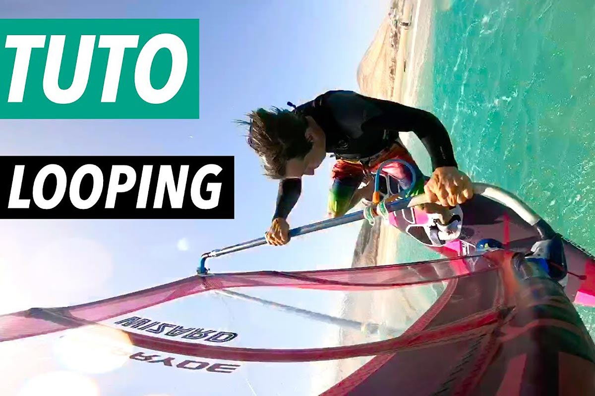 Tuto windsurf - Speed loop et front loop